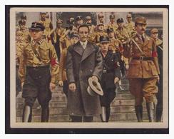 """DT- Reich (004388) Propaganda Sammelbild """"Kampf Ums Dritte Reich"""" Bild 194, Dr. Göbbels Mit SA Führern - Deutschland"""