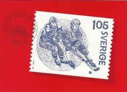 Bandy. Swedish Card.  B-3290 - Postcards