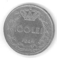 ROUMANIE - ROMANIA - 100 LEI 1944 - Mihai I - Roumanie