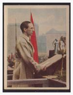"""DT- Reich (004397) Propaganda Sammelbild """"Kampf Ums Dritte Reich"""" Bild 258, Dr. Göbbels Spricht Zur Jugend - Deutschland"""