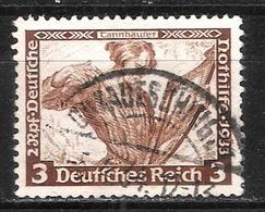 Reich N° 470 Oblitéré Dentelé 14x13 Michel 499A - Allemagne