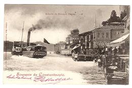 CONSTANTINOPLE - ISTANBUL - Souvenir De Constantinople - Echelle De Roumeli Hissar - Ed. Max Fruchtermann - Turkey
