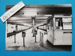 Berlin-Mitte, U-Bahnhof Luxemburgerplatz, 1960 - Mitte
