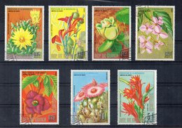 GUINEA EQUATORIALE - 1974 - Lotto 7 Francobolli Tematica Fiori - Usati - (FDC12755) - Guinea Equatoriale