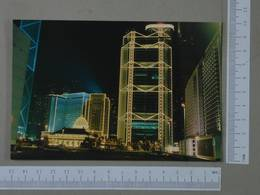 HONG KONG - BANK BUILDING -  CHINA -   2 SCANS  - (Nº26246) - Chine (Hong Kong)