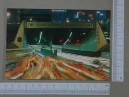 HONG KONG - HARBOUR TUNNEL -  CHINA -   2 SCANS  - (Nº26248) - Chine (Hong Kong)
