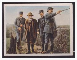 Dt.-Reich (004413) Sammelbild, Der Weltkrieg  (1917), NR  131, Clemenceau An Der Front - Deutschland