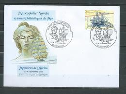 Cachet Temporaire 19è Philatélique De Mer - ROCHEFORT 15 Et 16/08 - Postmark Collection (Covers)