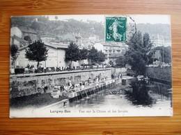 Belle Perspective LONGWY BAS - Vue Sur La Chiers Et Les Lavoirs - Animation Lavandieres - Voyagé En 1907 - TBE - Longwy