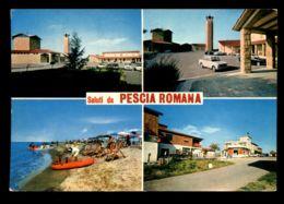 B8123 SALUTI DA PESCIA ROMANA - Italie