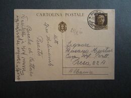 WW2 - ITALY OCCUPATION OF MONTENEGRO 1942- -PERASTO - CATTARO - 1941 - Montenegro