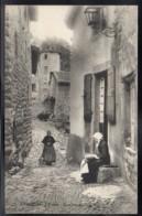 AUREC SUR LOIRE 43 - Une Vieille Rue - Dentellière - France