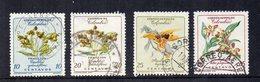 COLOMBIA - 1960 - Lotto 4 Francobolli Tematica Fiori - Usati - (FDC12757) - Colombia