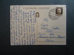 WW2 - ITALY OCCUPATION OF MONTENEGRO 1942- -PERASTO - CATTARO - 1942 - 9. WW II Occupation (Italian)