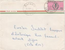 Bafang Cameroun 1968 - Lettre - Cachet Horoplan - Camerún (1960-...)