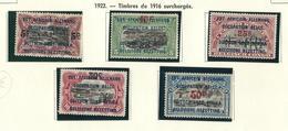 45 / 49 X  Avec Charnière / Met Plakker O.C. 5,00€  5 W./ V. - 1916-22: Ungebraucht