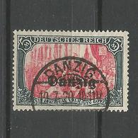 Danzig, Nr. 15 Gestempelt, Geprüft BPP - Danzig