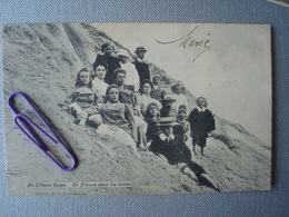 HEIST : Un Groupe Dans Les Dunes En 1907 - Knokke