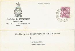 PK Publicitaire SINT-TRUIDEN 1940 - Fonderies E. BRIALMONT - Sint-Truiden