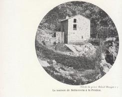 1902 - Phototypie - Bocognano (Corse) - La Maison Bellacoscia à La Pentica - FRANCO DE PORT - Vieux Papiers