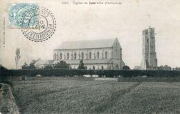 N°65581 -cpa église De Ranville - France