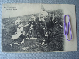 KNOKKE : Le Pique Nique En 1910 - Knokke