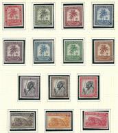 126/147 XX Timbre Neuf / Postfris MNH 4 V./ W. 44,00€ - Ruanda-Urundi