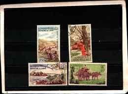73349) Laos-LOTTO FRANCOBOLLI -USATI- TURISMO - Laos