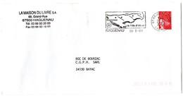 RHIN / Bas - Dépt N° 67 = HAGUENAU 2000 =  FLAMME Type II = SECAP Illustrée '4e Ville D' ALSACE ' - Postmark Collection (Covers)