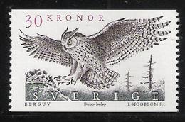 Sweden 1989 Bird, Eagle Owl (Bubo Bubo) Mi  1565   MNH(**) - Schweden