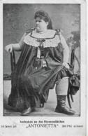 AK 0073  Andenken An Das Riesenmädchen Antonietta ( 18 Jahre - 360 Pfund ) Um 1907 - Zirkus