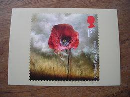 2016 PHQ La Grande Guerre WW1 Battlefield Poppy Pavot Champ De Bataille - Stamps (pictures)