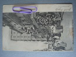 BLANKENBERGHE : Rue De L'église Et Le Bazar  En 1904 - Blankenberge