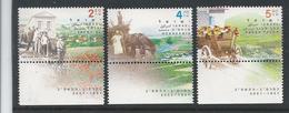 PZ.- Israël. Village Centenaries** Mi 1608-1610. 13 Feb. 2001. YAVNE, MENAHAMIA, KEFAR TAVOR. - Kulturen