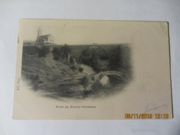 """Cpa PIERRE-PERRTHUIS (89) Le Pont  """" 1901"""" - Other Municipalities"""