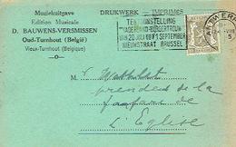 PK Publicitaire OUD - TURNHOUT 1945 - D. BAUWENS-VERSMISSEN - Muziekuitgave - Turnhout
