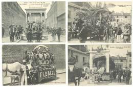 4 CPA Macon - Cavalcade 1909, Char De L'Amicale De L'école De Dessin ... ( S.3159 ) - Macon