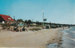 A View Of Sauble Beach, Ontario Showing Dobson's Store And Lakefront Cottages, Sauble Beach On Lake Huron - Ontario