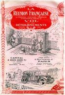 BUVARD(ASSURANCE) PARIS(COFFRE FORT) - Buvards, Protège-cahiers Illustrés