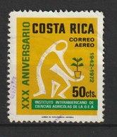 MiNr. 820  Costa Rica /  1972, 30. Juni. 30 Jahre Interamerikanisches Institut Für Agrarwirtschaft. - Costa Rica
