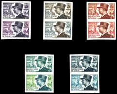 N°982, De Lattre De Tassigny, 10 Essais Dont 5 Multicolores. TB  Qualité: **  Cote: 525 Euros - Essais