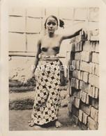 Bali  Lady Brick Worker Topless  RP Bi82 - Indonesien