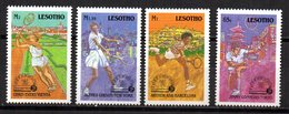 Serie Nº 800/3  Lesotho - Tennis