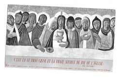 IMAGE PIEUSE ...Communion Louis De VIENNE, Chapelle De Saint Louis De Gonzague PARIS ( 75), En 1962 - Santini