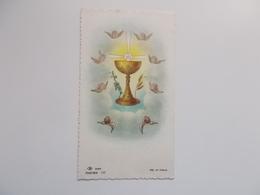 Devotieprentje: Plechtige Communie Van Herwig VERBEKE Rumbeke 31 Mei 1956, Hernieuwing Doopbeloften - Communion