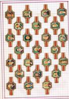 Vitolas De Puro. Colección Completa De 24 Vitolas - Otras Colecciones