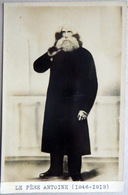 BELGIQUE SECTE SPIRITISME JEMMAPES LE PERE ANTOINE GUERISSEUR CARTE PHOTO - Belgium