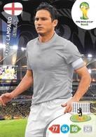 CARTE PANINI ADRENALYN COUPE DU MONDE FIFA BRESIL 2014 ANGLETERRE FRANCK LAMPARD - Trading Cards