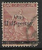 S.Africa, CoGH, 1882, One Half-Penny / 3d,, Used - South Africa (...-1961)