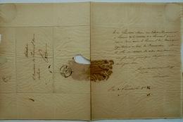 Lamartine, Lettre De Réclamation, - Documents Historiques